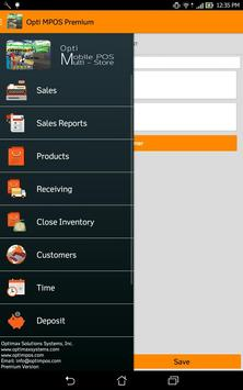 OptiMPOS Food & Beverages apk screenshot