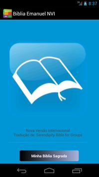 Biblia Sagrada NVI Emanuel poster