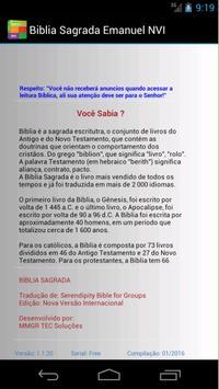 Biblia Sagrada NVI Emanuel apk screenshot