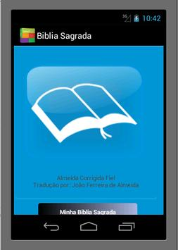 Biblia Sagrada ACRF Emanuel poster