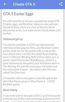 Cheats GTA 5 screenshot 3