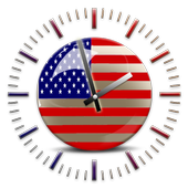 USA Clock Widgets icon