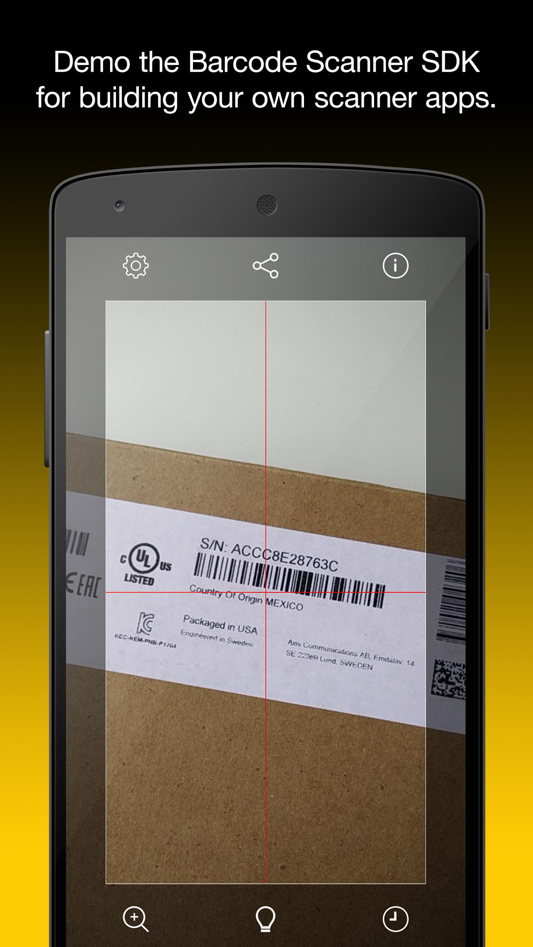 Barcode Scanner for Android - APK Download
