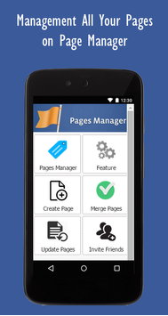 Pages Manager screenshot 1