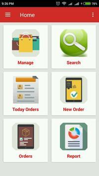 Manage Orders apk screenshot