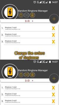 Random Ringtone Manager screenshot 1