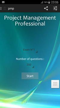 PMP Certificate Exam Prep poster