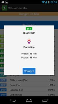 Manager Calcio apk screenshot