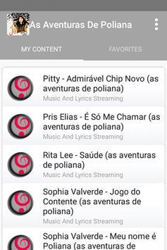 As Aventuras De Poliana Soundtrack poster