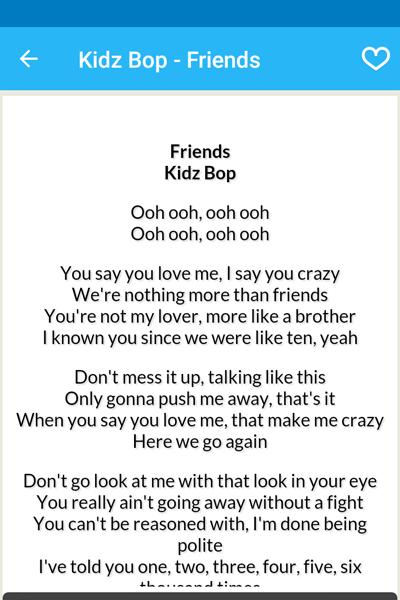 Kidz Bop 38 Songs for Android - APK Download