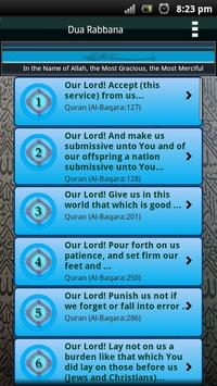 Dua Rabbana (40 Quranic Duas) apk screenshot