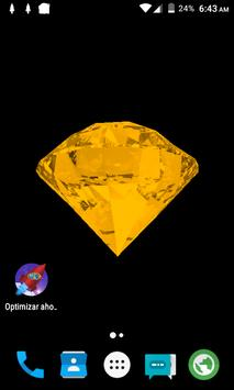 Gold Diamond Live Wallpaper apk screenshot