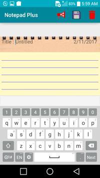 Notepad Plus - To-Do & Diary apk screenshot