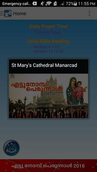 St. Mary's Cathedral Manarcad apk screenshot