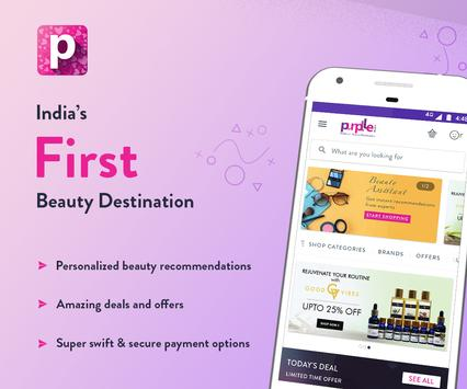 Purplle: Beauty Shopping App. Buy Cosmetics Online-poster