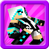 Skins for girls minecraft pe icon
