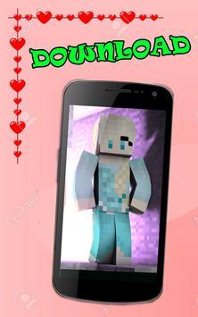 Skins for girls minecraft pe screenshot 4