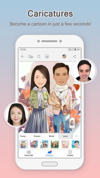 MomentCam Cartoons & Stickers apk screenshot