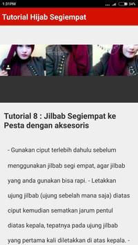 Tutorial Hijab Segi Empat Terbaru 2017/2018 screenshot 4