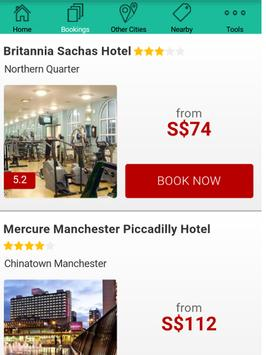 Manchester Hotels poster