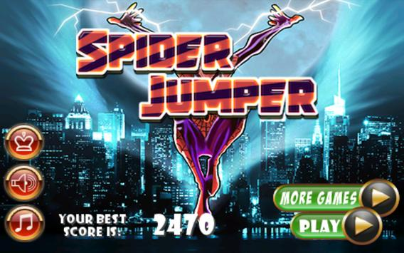 Spider Jump Ball apk screenshot