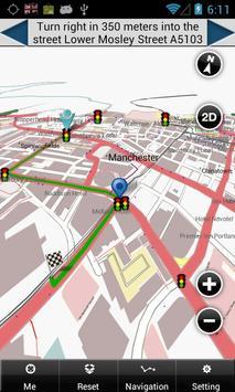 Manchester Map screenshot 1