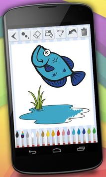 Coloring Book - Farm Animals screenshot 11