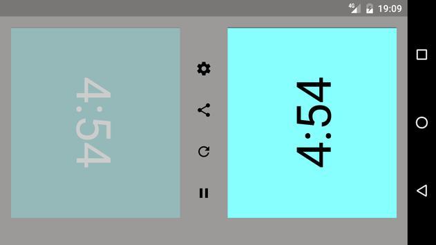 Chess clock apk screenshot