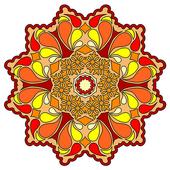 Coloring Book Mandala icon