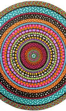 Mandala2 Wallpaper poster