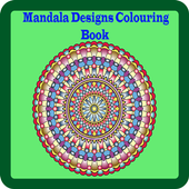 Mandala Designs Colouring Book icon