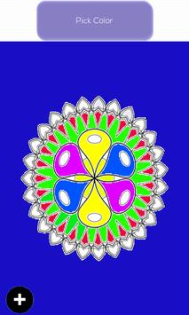 Mandala Designs Colouring Book screenshot 4