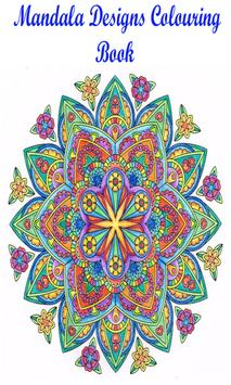 Mandala Designs Colouring Book poster