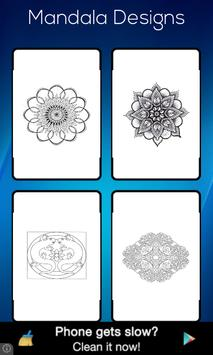 Mandala Designs Colouring Book screenshot 1