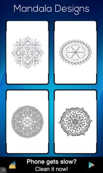 Mandala Designs Colouring Book screenshot 3