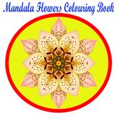 Mandala Flower Colouring Book icon
