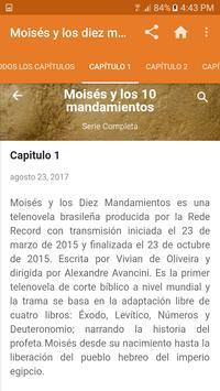 Serie Moisés Y Los Diez Mandamientos apk screenshot