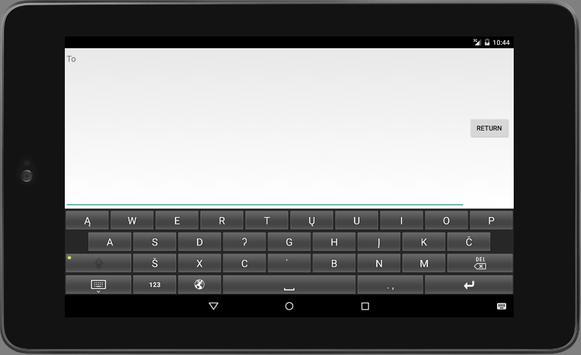 Mandan Keyboard - Mobile apk screenshot