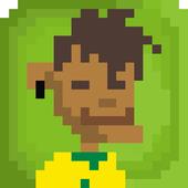Brazil Soccer Sliding Tackle icon