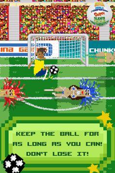 Brazil Soccer Sliding Tackle poster