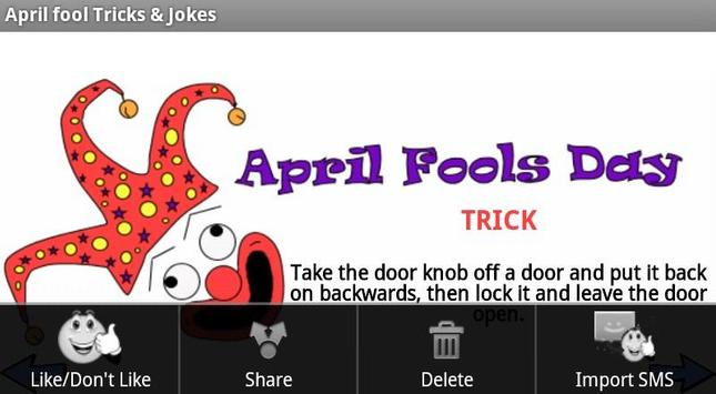 April Fool Tricks & Jokes apk screenshot