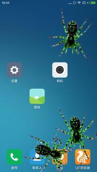 Spider in phone prank screenshot 10