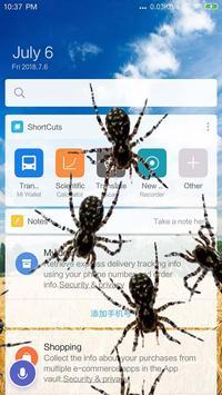 Spider in phone prank screenshot 1