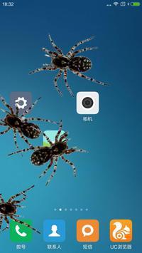 Spider in phone prank screenshot 4