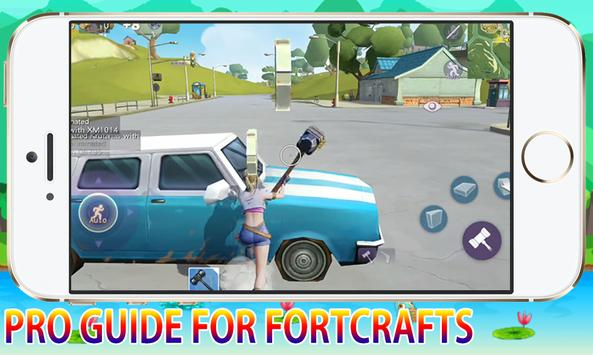 Pro Guide For FortCrafts Battleground Pro Player screenshot 4