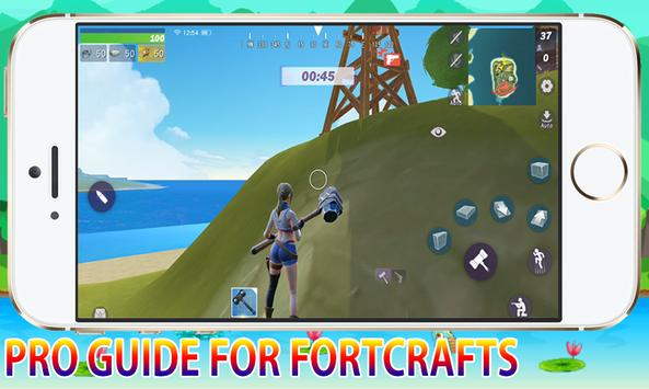 Pro Guide For FortCrafts Battleground Pro Player screenshot 5