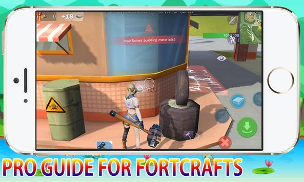 Pro Guide For FortCrafts Battleground Pro Player screenshot 8