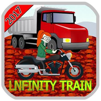 Infinity motorcycle Tran poster