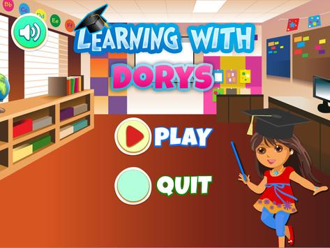 Learning with Dora poster