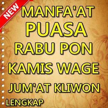 Manfaat Puasa Rabu Pon Kamis Wage Jum'at Kliwon screenshot 3